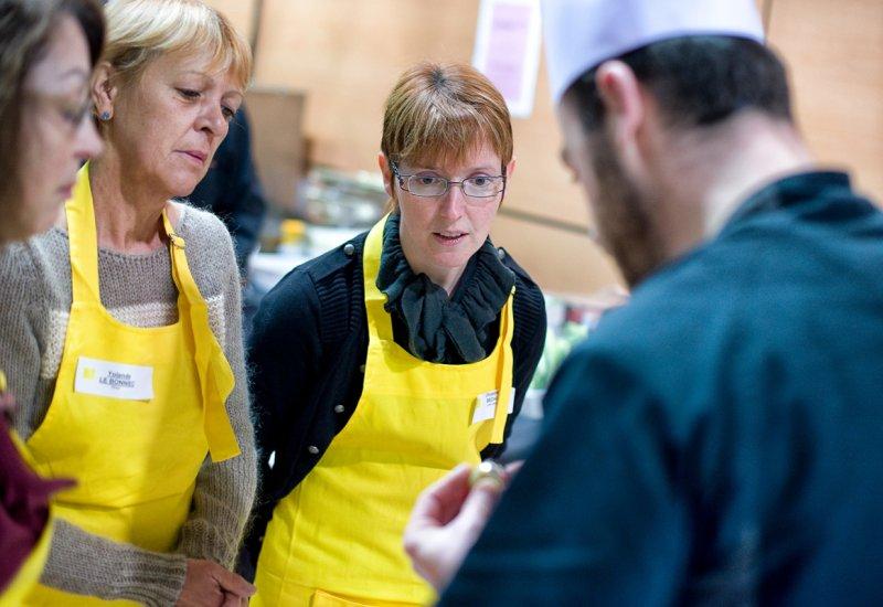 Cours de cuisine g ant st brieuc go ts d 39 ouest la - Cours de cuisine brest ...